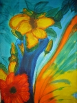 Ваза с цвете (ангажирана)