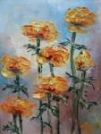 Лютиче (2019). Маслени бои върху платно. Размери 20 /15см   (налична)
